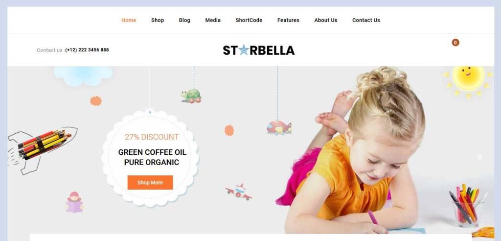 starbella : thème premium woocommerce