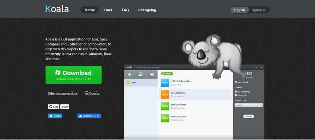 koala : outil de compression de code js