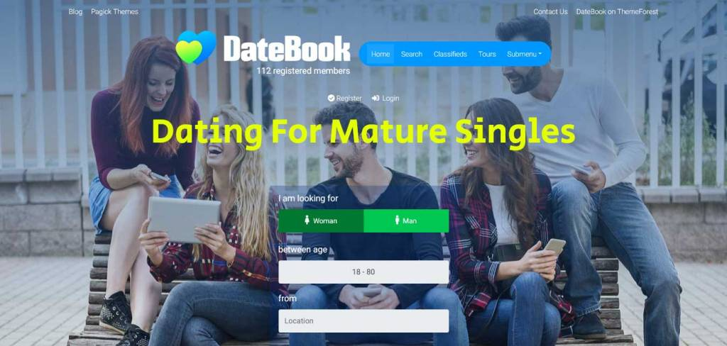 Datebook : thèmes wordpress pour site de rencontre