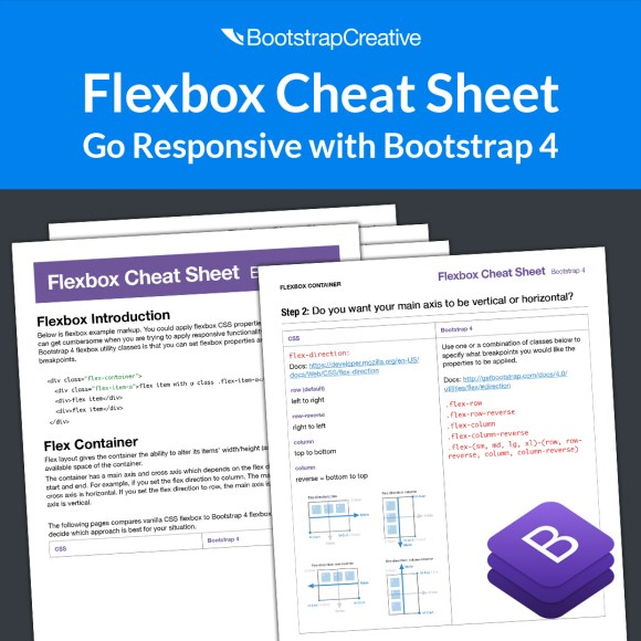 bf flexbox cheat sheet
