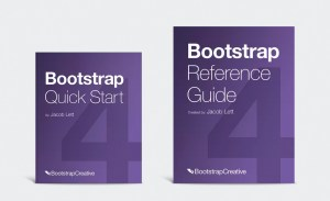Bootstrap 4 books - learn responsive web design for beginners