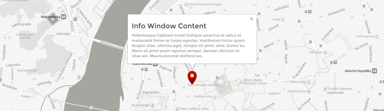 Google Maps And Bootstrap Tutorial Step By Step Custom