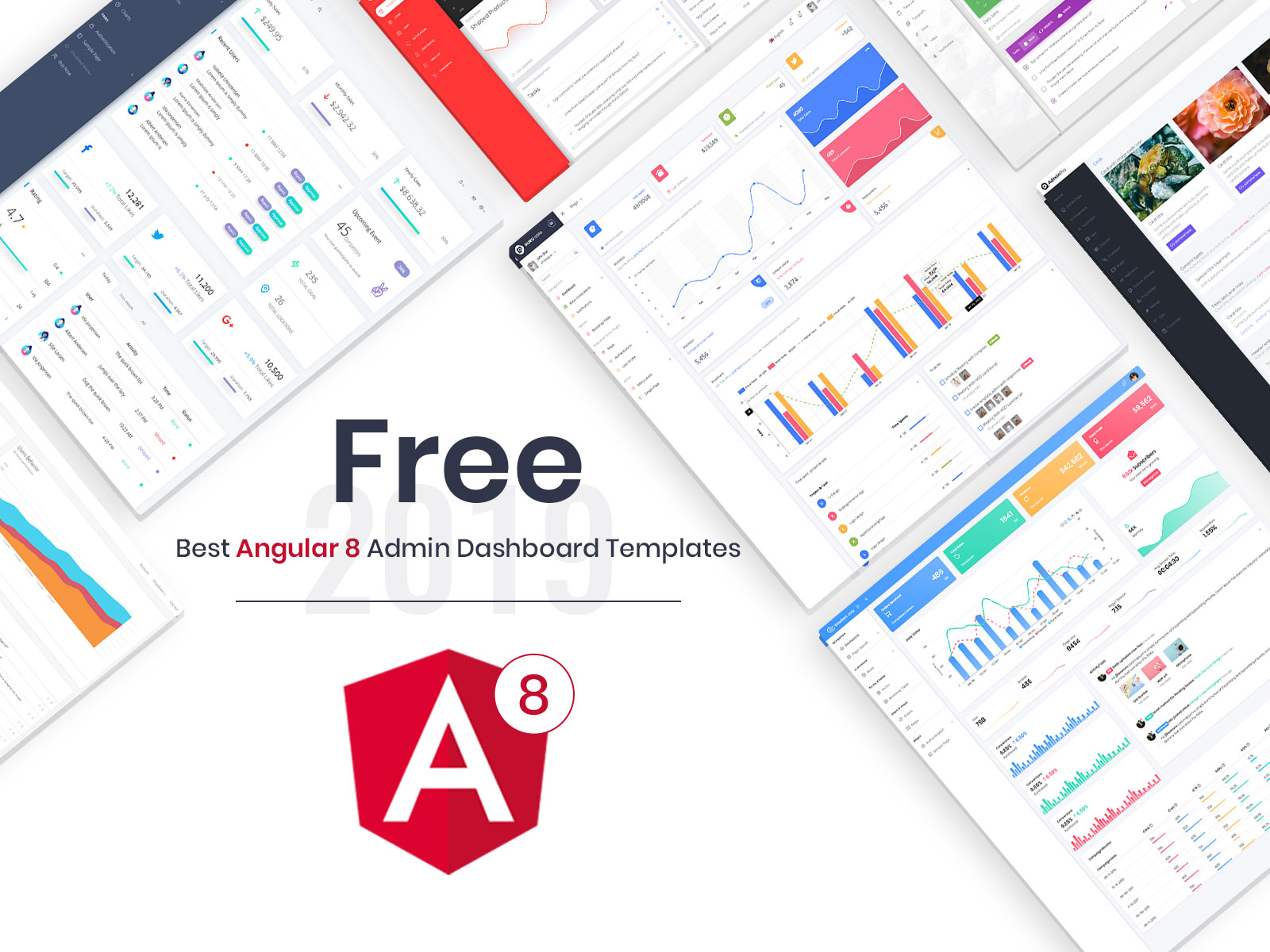 Best Angular 8 Free Admin Dashboard Templates