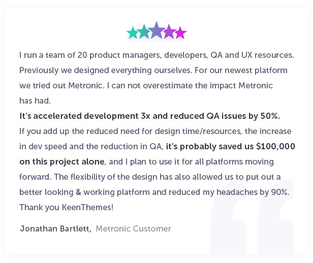 metronic support