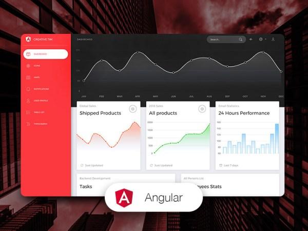 Now UI Dashboard Best Angular Free Admin Template