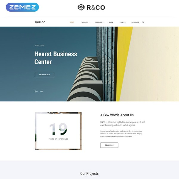 R&Co Bootstrap Template
