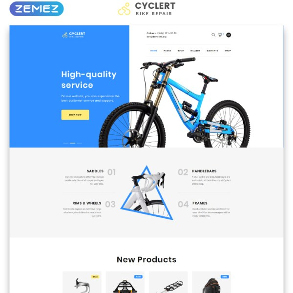 Cyclert Bootstrap Template