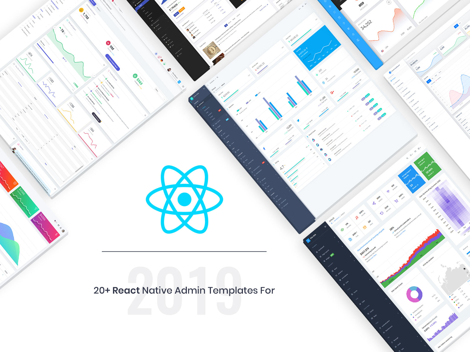 React Native Admin Templates for 2019