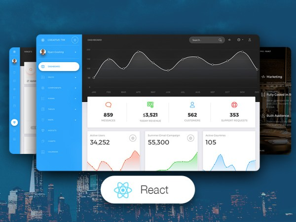 Now UI Dashboard PRO React Admin Template