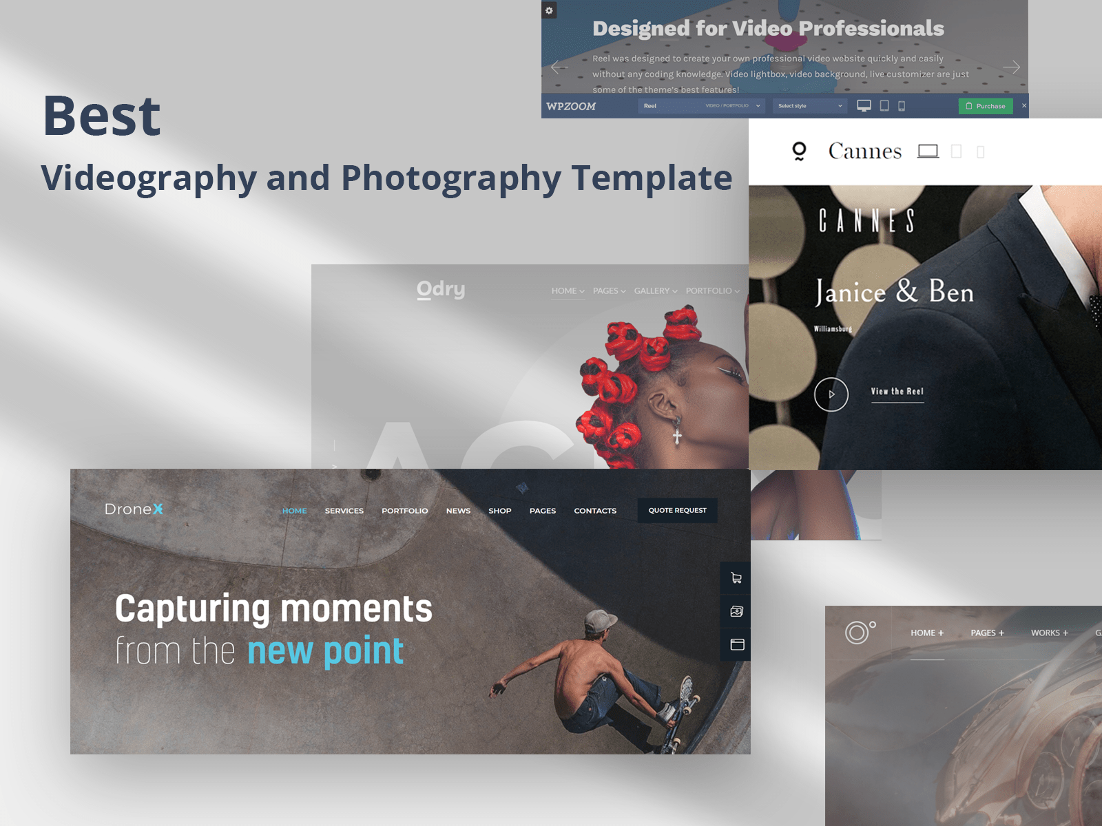 Videography and Photography template