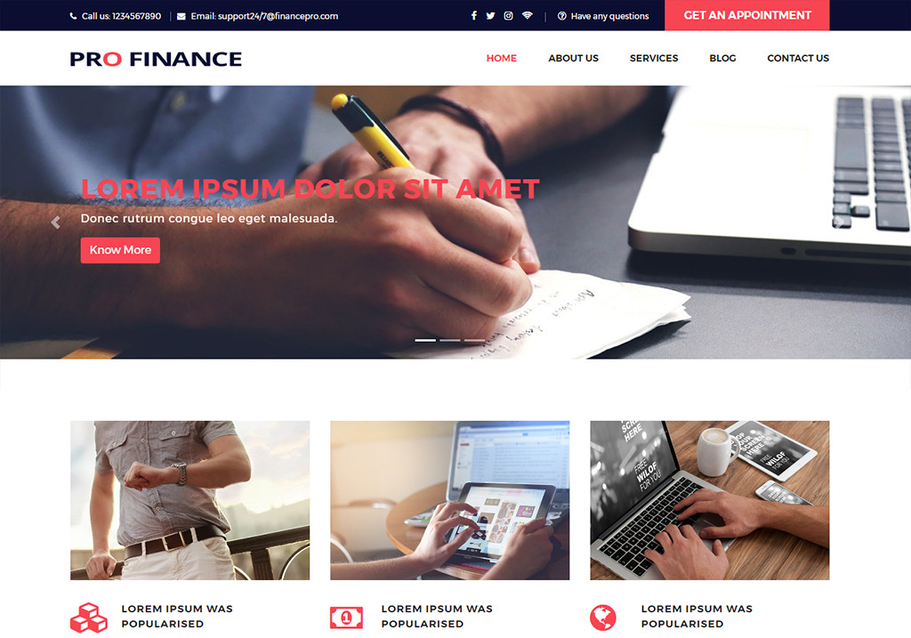 Pro finance website templates free download for financial company pro finance website templates free download for financial company maxwellsz