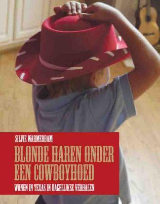 omslag Blonde haren onder een cowboyhoed