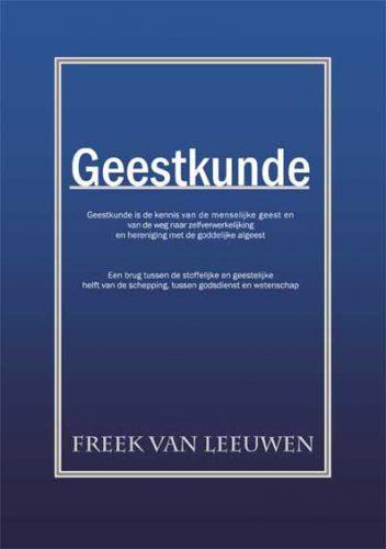 Omslag van Geestkunde het boek van Freek van Leeuwen over de menselijke geest