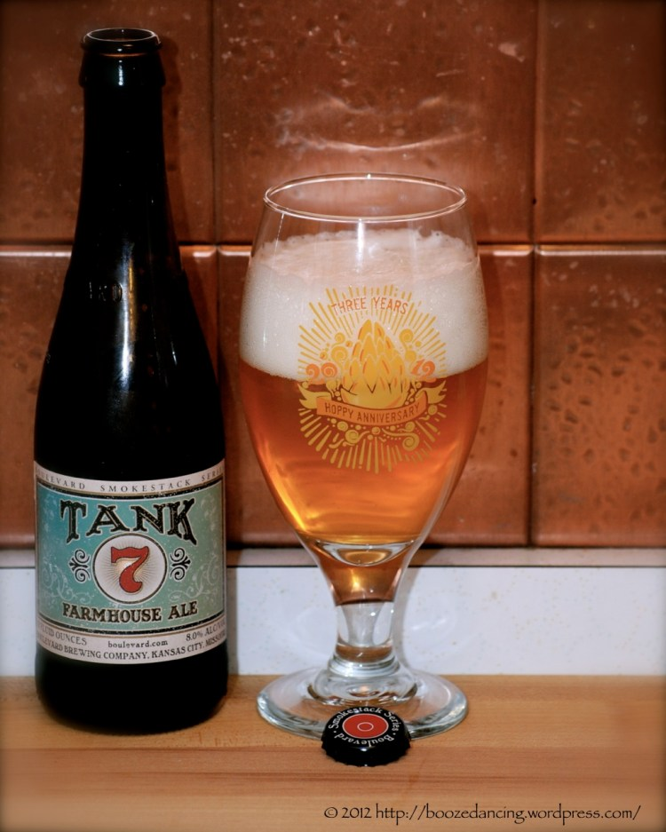 Beer Review Version 2 Boulevard Brewing Tank 7 Farmhouse
