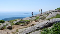 Views of Mt. Desert Island from the top of Cadillac Mountain