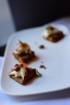 Carrot Cake w/ Candied Carrot