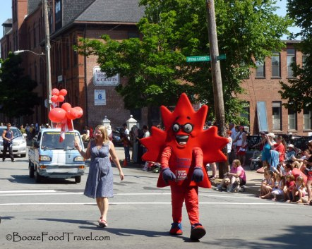 At least I caught some of the parade through downtown Halifax