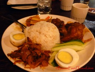 Nasi Lemak at Penang
