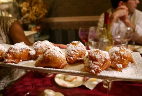 It continued with zeppoles...