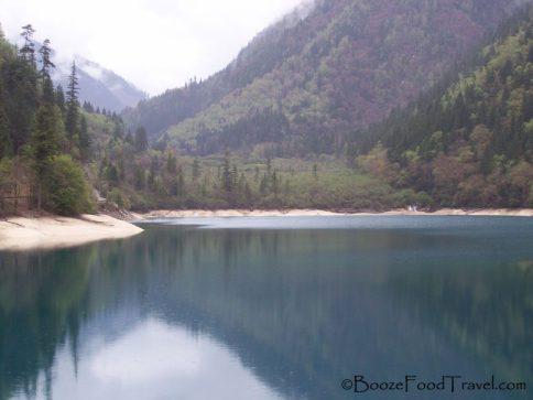 Panda Lake, but no pandas in sight