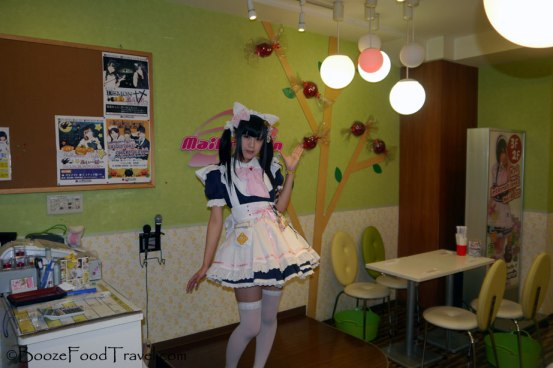 This is what you'd expect at a maid cafe.