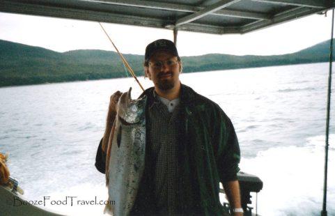 Mmm...tasty fish in Juneau