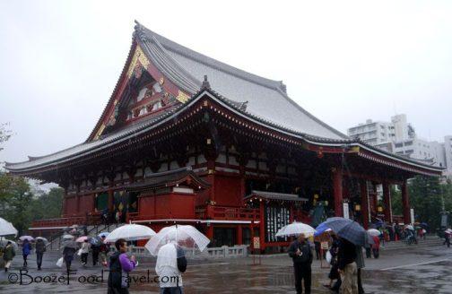 Main Hall of Sensoji Temple