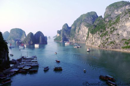 View of Halong Bay from Surprising Cave