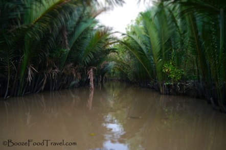 A quiet channel of the Mekong Delta
