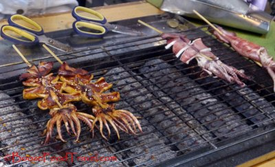 Mmm...grilled squid