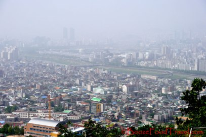 View of Seoul from Yongmasan