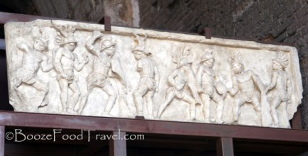 Bas-relief at the Colosseum