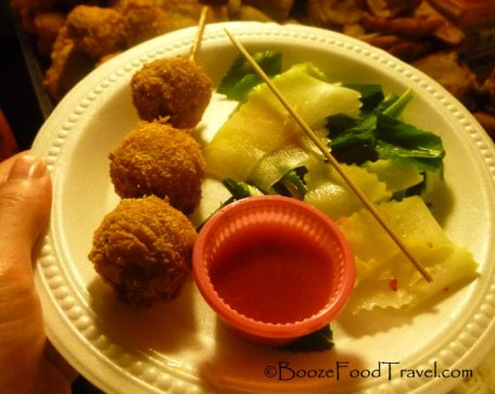 My meal at the Phnom Penh Night Market