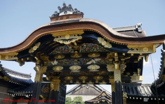 Karamon, the main gate to Ninomaru Palace