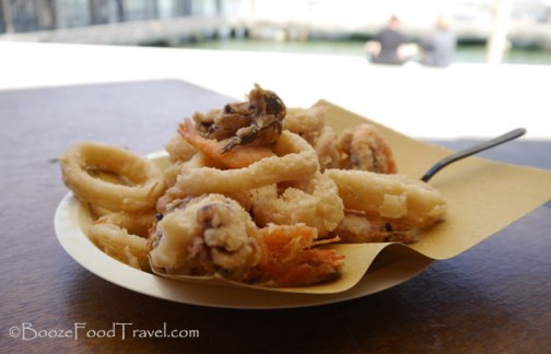 Fritto Misto in the shade of Burano
