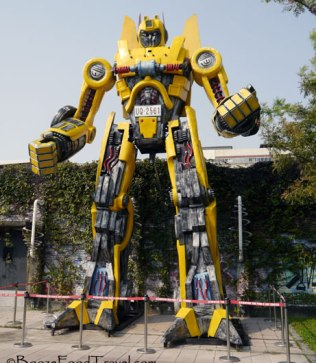 Kaohsiung's knock-off Transformer. It isn't more than meets the eye.