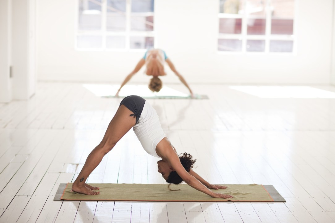 Yoga practice in the context of staying sober
