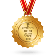 badge for Top sobriety and Sober Living Blogs