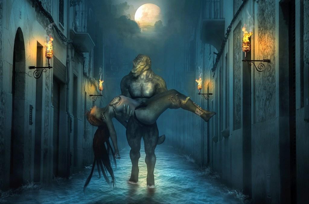 Lizard Man Fantasy Image