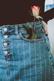 rose in pocket, representing sobriety