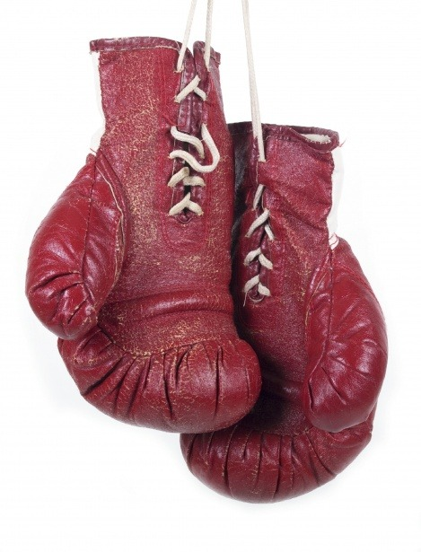 Red Boxing Gloves -Hanging up the Dopamine hit from Alcohol