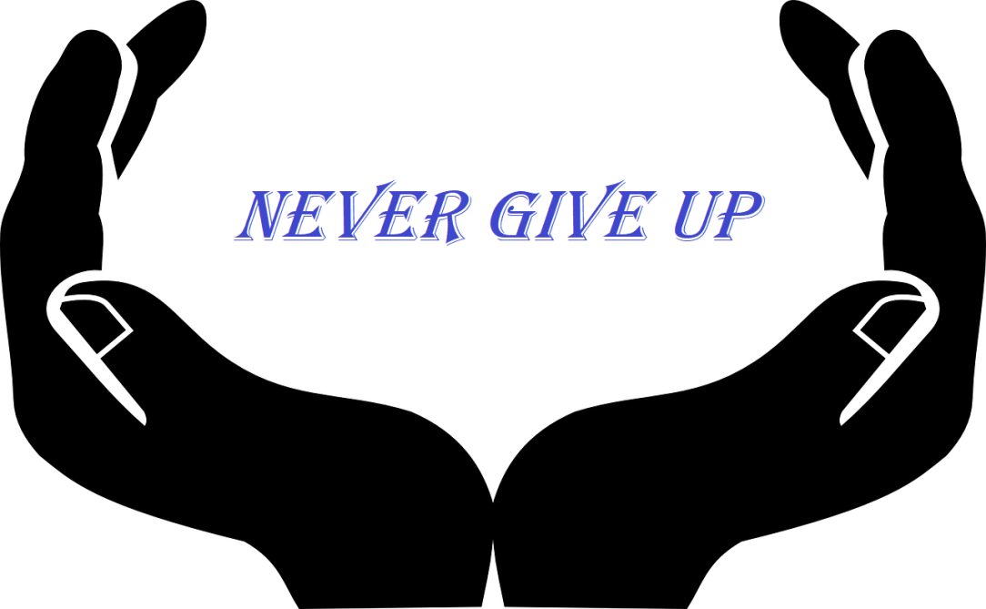 Never Give up in open hands - Can't Stop Drinking? Secret drinker ? Alcoholic? If I can Do it You can do it