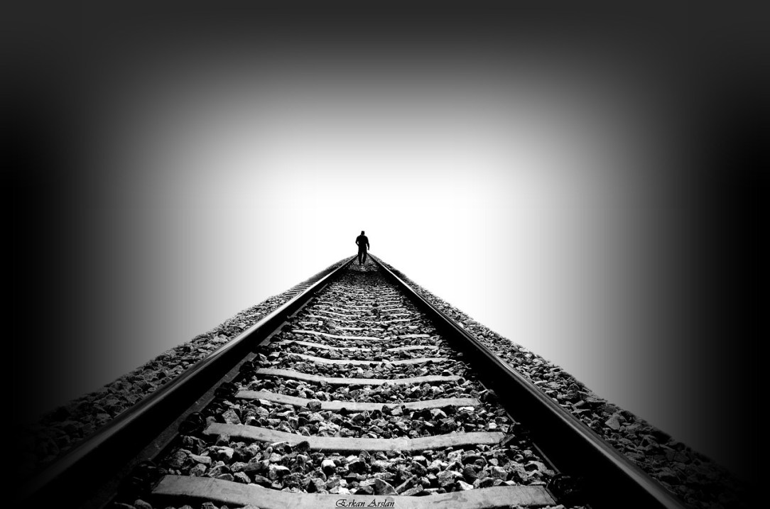 Walking on Tracks to Sober Forever