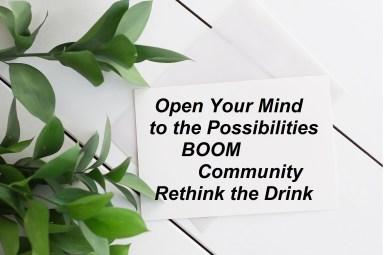 Boom Community Rethink the Drink
