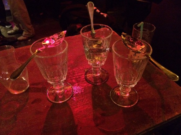 Absinthe in Paris