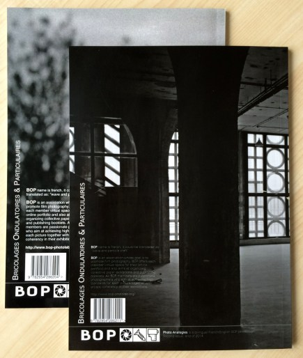 Photo Analogies #1 & #2 back covers