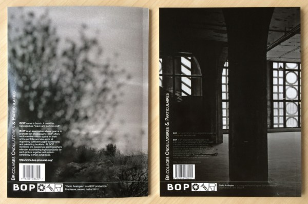 Photo Analogies #1 & #2 back covers