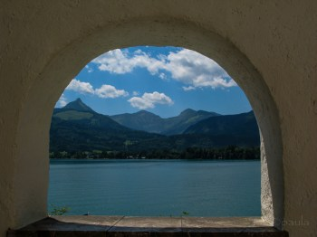 Sankt Wolfgang - window