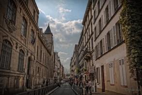 Street leading to Church Saint-Jean-de-Montmartre