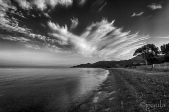 san firenzu_beach_b&w